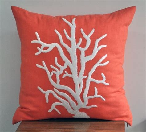 coral bed pillows 17 best images about 2015 color of the year coral reef