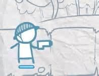 doodle brigade stick play sniper base defense and