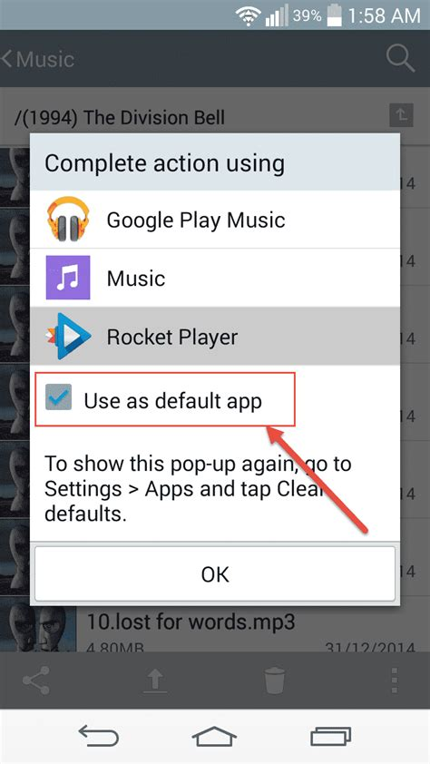 tutorial android music player tutorial how to change default music player on android