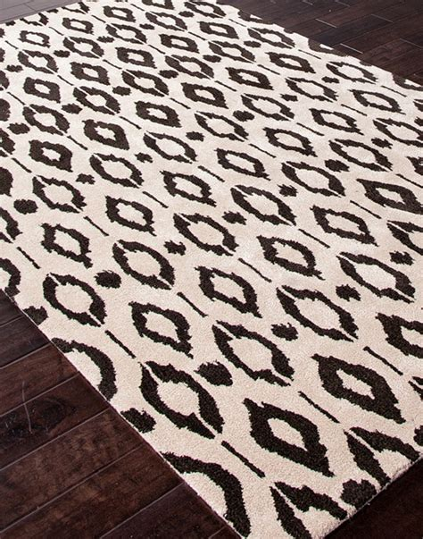 Black And White Ikat Rug by White Rug Black Ikat Detail Home