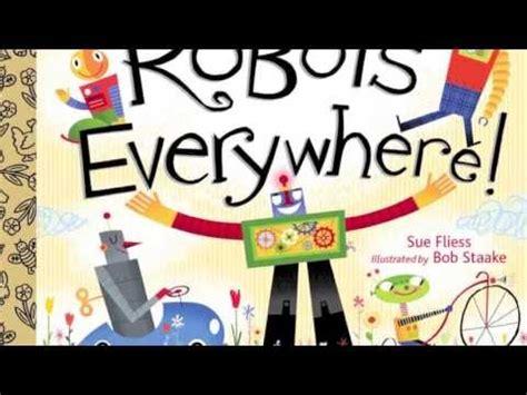 robots robots everywhere little 0449810798 robots robots everywhere official book trailer youtube