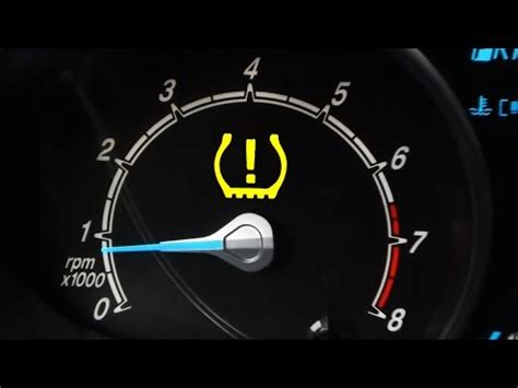 Tire Pressure Light by How To Reset Low Tire Pressure Light Tpms