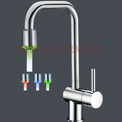 led kitchen faucets china 2011 new led kitchen faucet china led kitchen