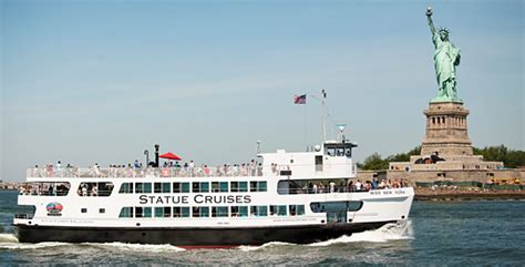speed boat around statue of liberty statue cruises