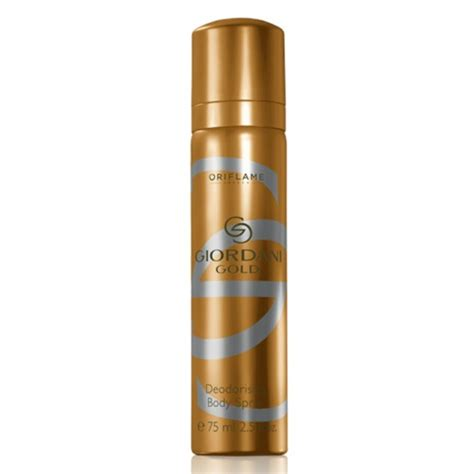 Skin Wash Oriflame Ready Sale oriflame giordani gold deodorising spray 75ml