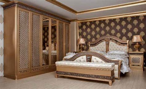 Lu Tidur Barcelona yatak odalar箟 klasik yatak odas箟 dekorasyonu modelleri