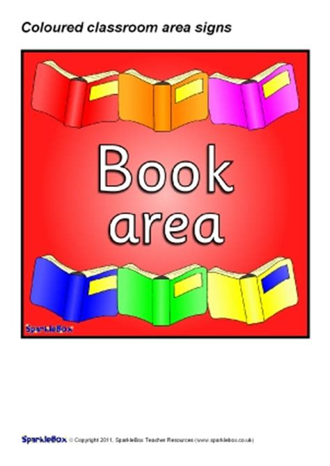 printable classroom area signs printable classroom signs and labels for early years ks1