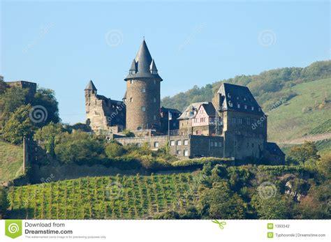 historical castles historical castle stahleck germany stock photo image