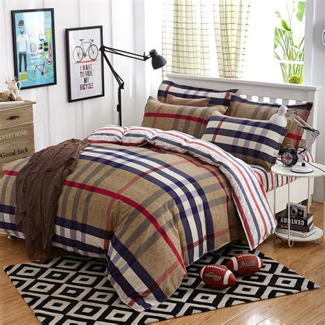 good bed sheets summer bedding sets 4 pcs cover fashion bed sets lattice style very soft good quality king queen