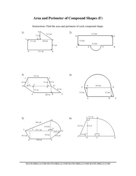 Volume Of Composite Figures Worksheet by Countdown To Math Worksheet 6th Grade Search Results