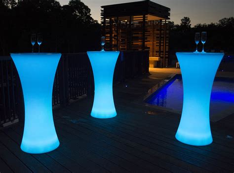 Lighted Table by Led Cocktail Table Led Furniture Thailand