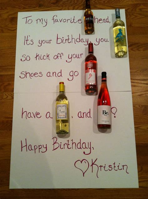 birthday drink wine a wine birthday card way better than the beer cakes and