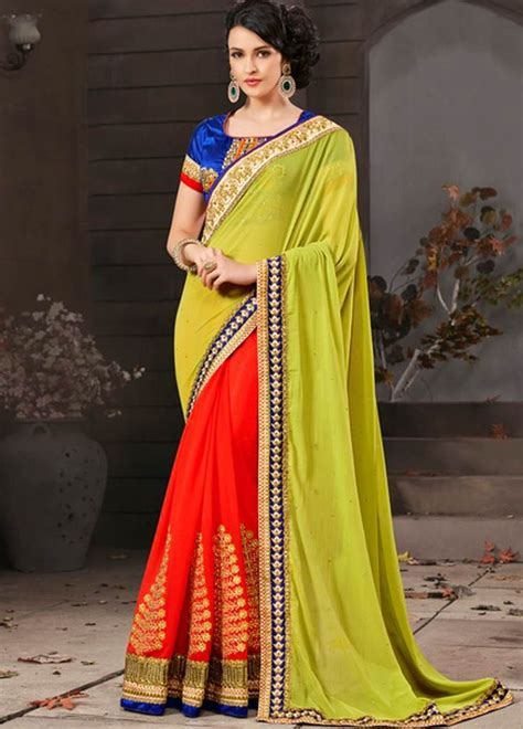 57 best Partywear Latest Sarees Online Shopping India