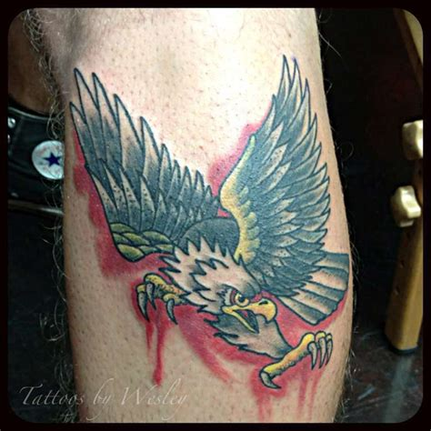 eagle tattoo neo traditional weswesyall tattoos eagle neo traditional