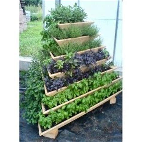tiered vegetable garden space saver gardening pinterest gardens vegetables and herbs
