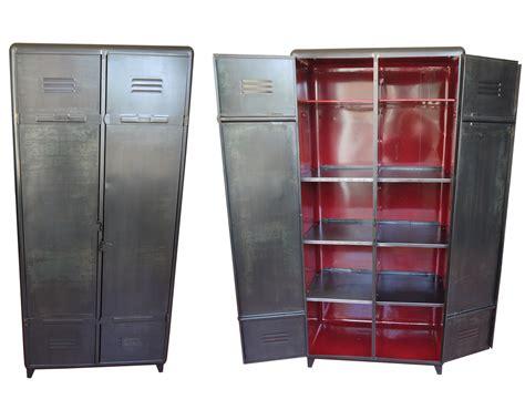 armoire industrielle vintage armoire industrielle atelier vintage mobilier