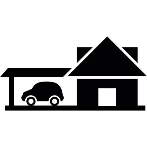 Was Ist Eps Beim Auto by Haus Mit Auto Der Kostenlosen Icons