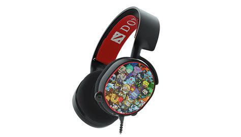 Special Edition Headphone Model Gaming With Microphone Sn 281m V dota 2 edition steelseries arctis 5 gaming headphones gadgetynews