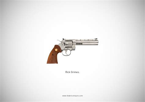 Walking Dead Revolver 25 beautiful photographs of cinema s most iconic weapons business insider