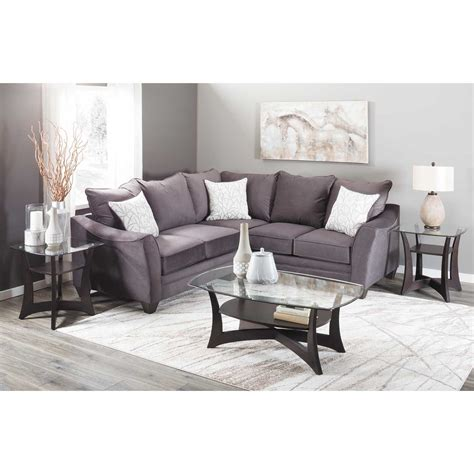 Raf Sofa Sectional by Flannel Seal 2 Sectional With Raf Sofa 3810 3816