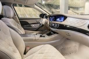 Mercedes S Class Interior Photos 2018 Mercedes S Class Preview J D Power Cars