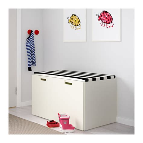 bench storage ikea stuva storage bench white white 90x50x50 cm ikea