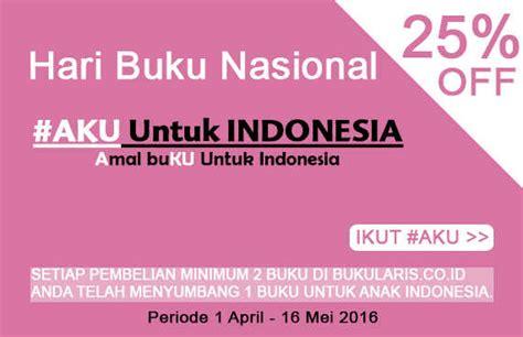 Paket Buku By Toko Trubus Id program aku untuk indonesia diskon 25 gratis 1 buku