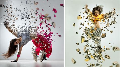 tutorial design photoshop indonesia photoshop tutorial 3d dispersion effect photoshop