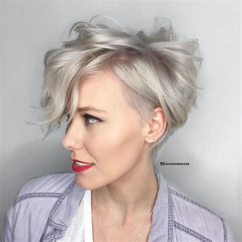 short haircut pixie cut ash blond 25 best ideas about undercut pixie haircut on pinterest