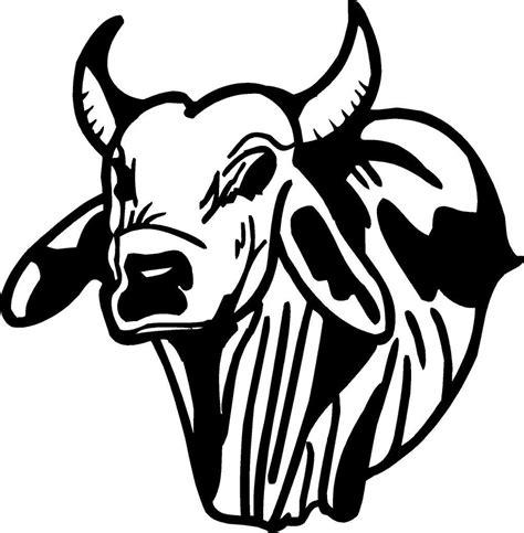 Brahma Bull Face Symbol