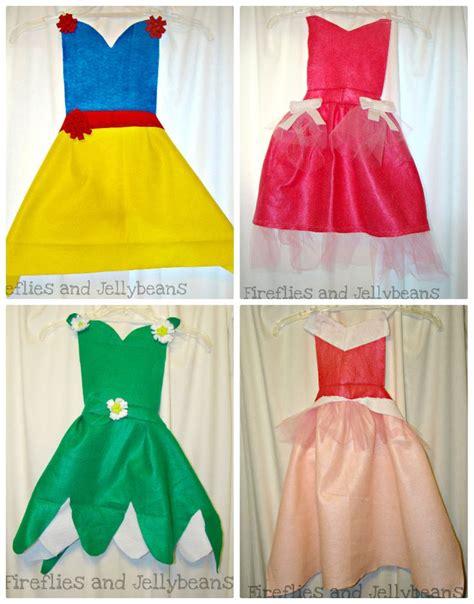 tutorial apron dress fireflies and jellybeans easy diy princess dress up