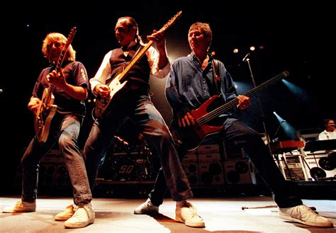 Status Quo Status Quo Reunited After 30 Years As They Rehearse For