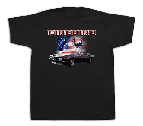 pontiac firebird t shirt usa firebird pontiac america flag t shirts car
