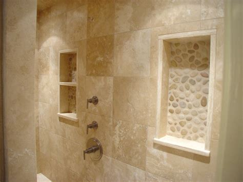 river rock shower traditional bathroom boston by walk in shower traditional bathroom boston by