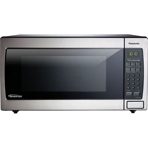 Microwave Panasonic Inverter panasonic 1 6 cu ft countertop microwave in stainless