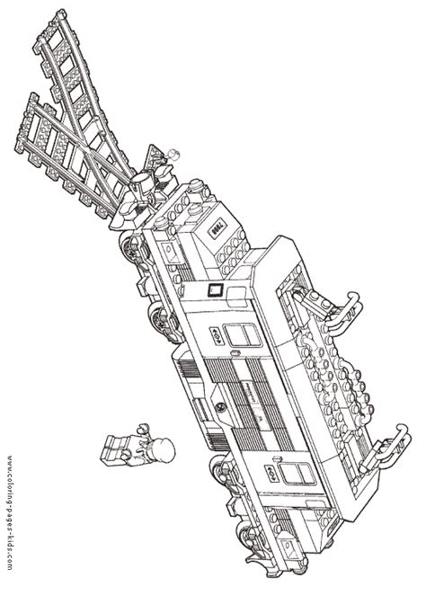 free coloring pages lego letscoloringpages com train