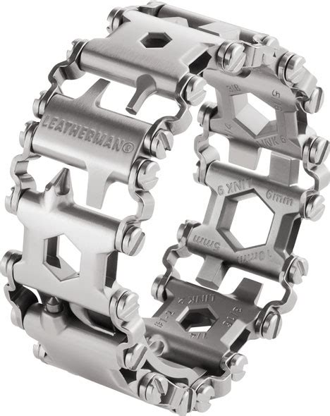 leatherman tread 3d printed tool bracelet looks like the leatherman tread