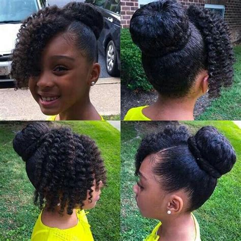 Super Cute Hairstyles For Little Black Girls