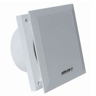 airflow qt120 quiet air 5 inch bathroom extractor fan