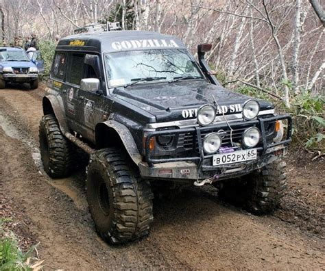 nissan safari off road pin by jerome rosales on wheels pinterest nissan