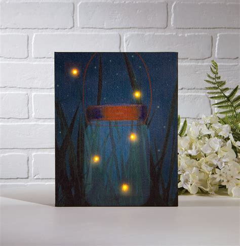 radiance flickering light canvas image gallery lighted canvas wall art