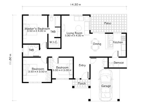 Economy Home Plans by One Story House Plans Like Small House Designs Series Shd
