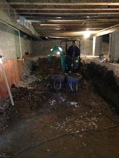 crawl space conversion to basement cost how to convert your crawl space into a basement spaces money and basements