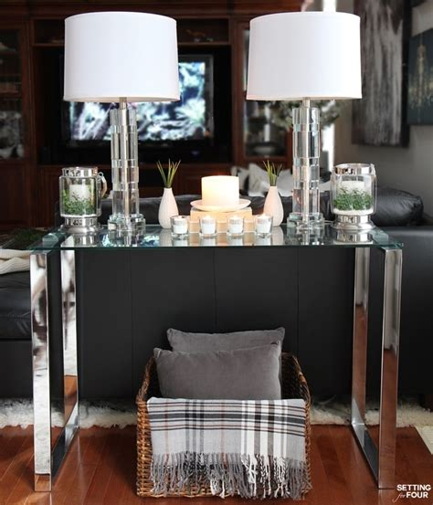 how to decorate a sofa table 5 tips to decorate accent tables like a pro setting for