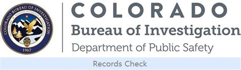 Colorado Bureau Of Investigations Background Check Background Checks