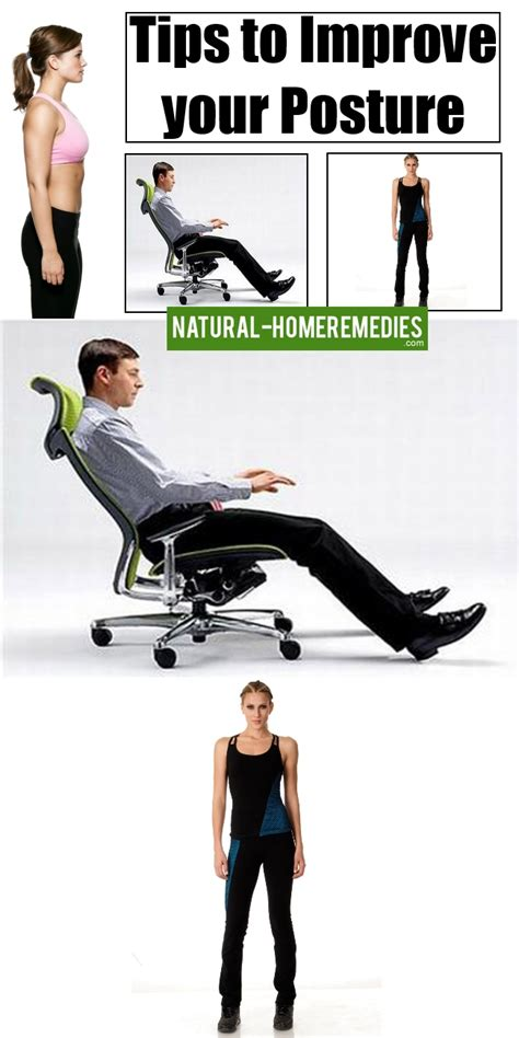 7 Tips For Improving Your Posture by How To Improve Your Posture Cures For Back Aches