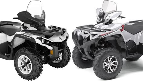 2018 Yamaha Grizzly Eps Le Vs Can Am Outlander North