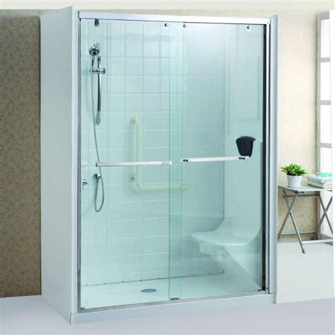 cristallo per doccia cabina doccia cristallo 8 mm per anziani trasparente