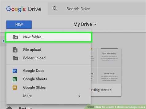 design google docs how to create folders in google docs 8 steps with pictures