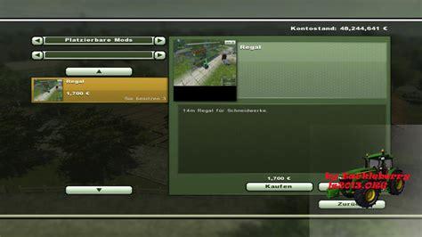 cách mod game java ls 2013 14m schneidwerksregal v 1 platzierbare objekte